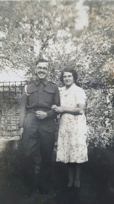 Great grandad James Wicks with his mother Annie Jowers who died shortly after