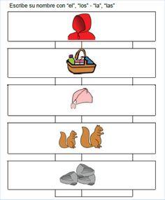 "AUDICIÓN Y LENGUAJE: ESTRUCTURA DE FRASES A PARTIR DEL CUENTO ""CAPERUCITA ROJA"" Conte, Disney Characters, Fictional Characters, Education, English, Sentences, Red Riding Hood, Vocabulary, Index Cards"