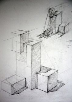 Interior Architecture Drawing, Architecture Drawing Sketchbooks, Architecture Portfolio Layout, Conceptual Architecture, Architecture Concept Drawings, Drawing Interior, House Architecture, Architectural Drawings, Perspective Drawing Lessons