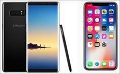iPhone X vs Samsung Galaxy Note 8: A battle for smartphone dominance