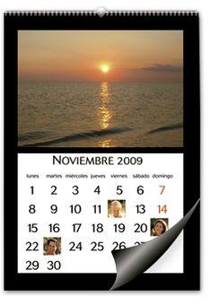 Calendario de Pared Grande para imprimir