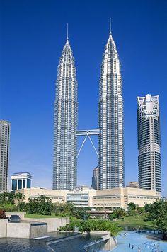 "High Quality Stock Photos of ""malaysia"" Unusual Buildings, Modern Buildings, Beautiful Buildings, Beautiful Places, Kuala Lumpur, 7 World Wonders, Travel Around The World, Around The Worlds, Malaysia Truly Asia"