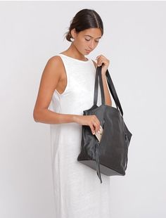 40c2541ca Leather Crossbody Purse, Large Leather Tote With Zipper, Woman Leather  Handbag, Soft Leather
