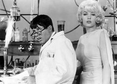 Jerry Lewis and Stella Stevens in the original Nutty Professor