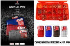 Tackle Box Scatola Porta accessori Moncross Trasp  211x115x45mm - EUR 8.90