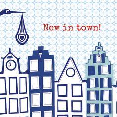New in town! Geboortekaartje van Perron11.