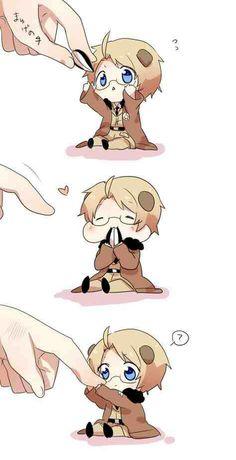 Aww! Chibi-Alfred!! > u <