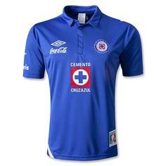 Cruz Azul 12/13 Jersey de Futbol Local - TiendaFutbolMundial.com