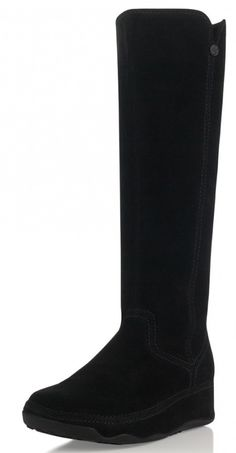 bb3303c8fc4 Fitflop - Superboot Tall (Suede) Black. Shoetopia · Fitflop Women's Boot's