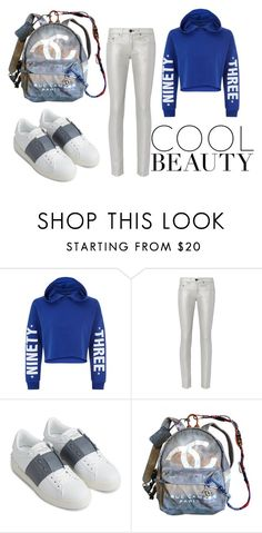 """www.anikle.blogspot.com"" by andzelika-niklewicz on Polyvore featuring New Look, rag & bone, Valentino and Chanel"