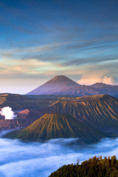 anotic:  Bromo Vulcano | SadAgus  Tengger massif, in East Java, Indonesia. 2,329m.