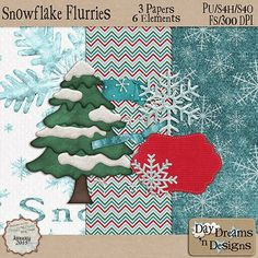 January 2015 Scraps-N-Pieces Blog Train:   Day Dreams 'n Designs