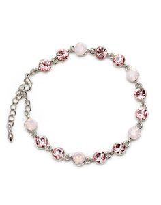 Swarovski crystals bracelet Crystal Bracelets, Pandora Charms, Swarovski Crystals, Charmed, Jewellery, Jewels, Schmuck, Jewelry Shop, Jewlery