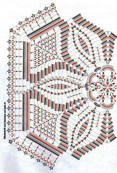 Kira scheme crochet: Scheme crochet no. 2985