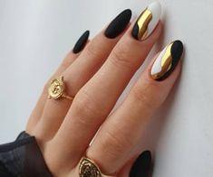Chic Nails, Stylish Nails, Trendy Nails, Round Nails, Oval Nails, Simple Gel Nails, Jolie Nail Art, Watermelon Nails, Modern Nails