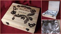 Poharak fa dobozban #minibazár #esküvő #gravírozás Fa, Home Decor, Decoration Home, Room Decor, Interior Decorating