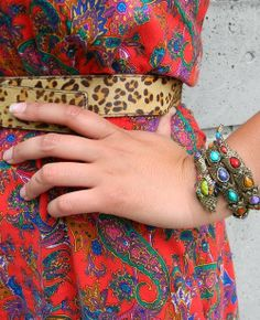 Fashion For Giants - leopard + paisley