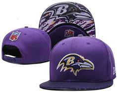new products 86606 3aee3 2018 New NFL Baltimore Ravens Adjustable Snapback Purple Hat