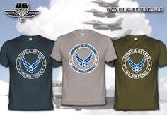 United States Air Force. Camisetas Militares. www.paracamisetas.com