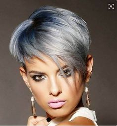 Gorgeous Pixie Silver Haircuts!