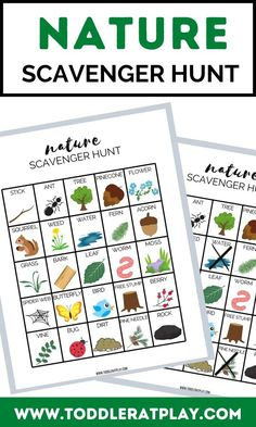 Fun and exciting outdoor scavenger for kids of all ages! Activities For 2 Year Olds, Outdoor Activities For Kids, Spring Activities, Toddler Activities, Preschool Activities, Summer Crafts, Fall Crafts, Toddler Crafts, Crafts For Kids