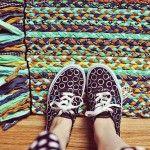 Cómo hacer una alfombra con retales de tela o trapillo
