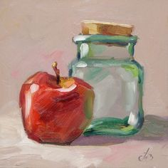 DAILY PAINTING, CONTEMPORARY STILL LIFE BY TOM BROWN, painting by artist Tom Brown