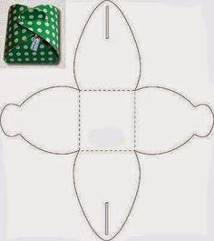 Cajita para souvenirs ideales para BabyShower, con moldes. | Aprender manualidades es facilisimo.com