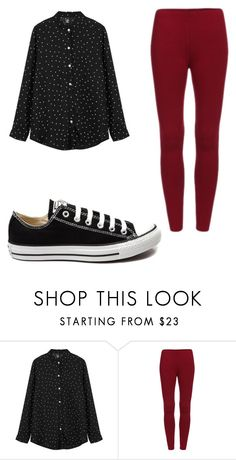 """Untitled #223"" by sierrapalmer10 on Polyvore featuring Converse, women's clothing, women, female, woman, misses and juniors"