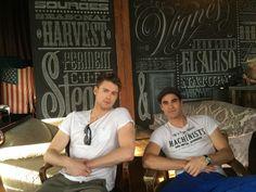 Chord Overstreet and Darren Criss Glee Rachel And Finn, Cory Glee, Darren Criss Glee, Chord Overstreet, Glee Club, Chris Colfer, Cory Monteith, Sarah Michelle Gellar, Lea Michele