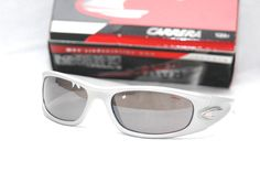 New CARRERA KERAMIKO SILVER FRAME EXTREME SPORTS Racing SUNGLASSES