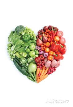 Green And Red Healthy Food Poster at AllPosters.com