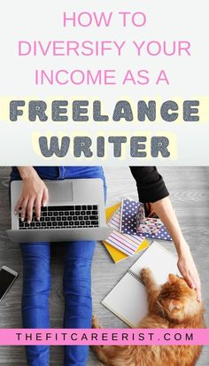 5 Ways to Diversify Your Income as a Freelance Writer - Work From Home Opportunities, Work From Home Jobs, Start A Business From Home, Online Business, Article Writing, Writing Tips, Make Money Online, How To Make Money, Writing Portfolio