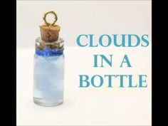 ♥ BottleCharm Tutorial: Blue sky Clouds♥
