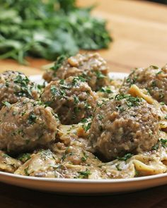 "One-Pot Vegan Swedish ""Meatball"" Pasta Recipe by Tasty"