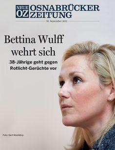 """Bettina #Wulff will Behauptungen, sie habe einst dem Rotlicht-Milieu nahe gestanden, nicht mehr zulassen. Die Klagen der Ex-""""First Lady"""" haben zumindest teilweise schon Erfolg. Weitere Infos in unserer iPad-Ausgabe vom 10. September 2012."""