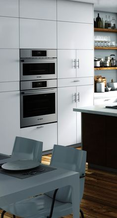 Healthier cooking has never looked so good. The Bosch steam oven provides a healthier way to prepare meals. Find your style from a variety of powerful and efficient Bosch appliances at Abt.