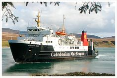 Caledonian MacBrayne ferry from Oban to the Isle of Mull
