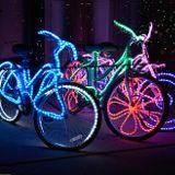feierliche Fahrräder