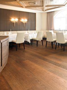 OAK Vulcano, brushed, natural oiled I Restaurants I natural wood floors I mafi.com