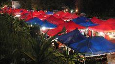 Luang Prabang Market at Night