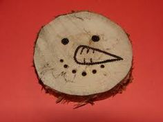 Woodburned ornament
