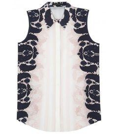 Printed + silk. #silk #shirt #textile