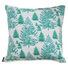 Paule Marrot Les Sapins Pillow – Biscuit Home