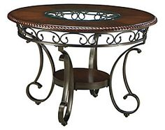 Glambrey Dining Room Table View 5