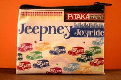 Pitaka (Wallet)..the funky design of jeepneys makes this a great souvenir for your trip from the Philippines.