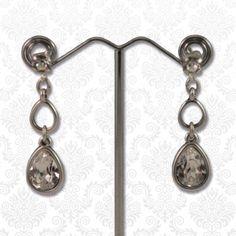 Swarovski druppels crystal  Mooie elegante oorbellen bestaande uit meerdere druppels en Swarovski elements kristallen