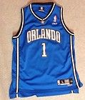 For Sale - OFFICIAL NBA Orlando Magic 2004 Tracy McGrady SEWN Jersey Reebok Youth L +2