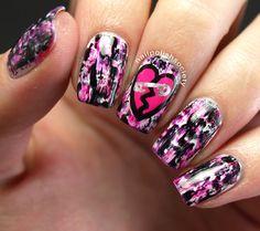 Nail Polish Society>> Punk You Valentine's Day!