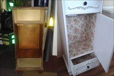 Cupboard before&after